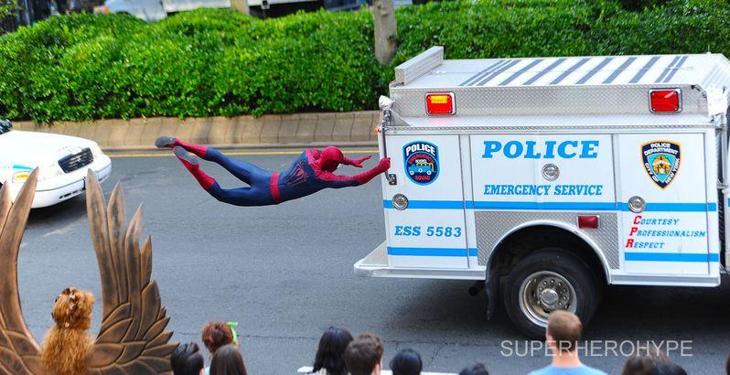 The Amazing Spider-man 2 On Set #8