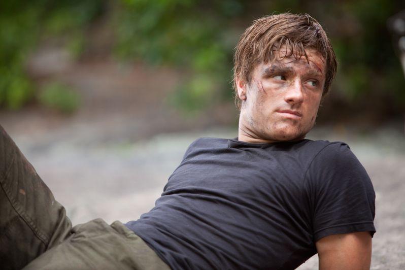 Josh Hutcherson in <strong><em>The Hunger Games</em></strong>