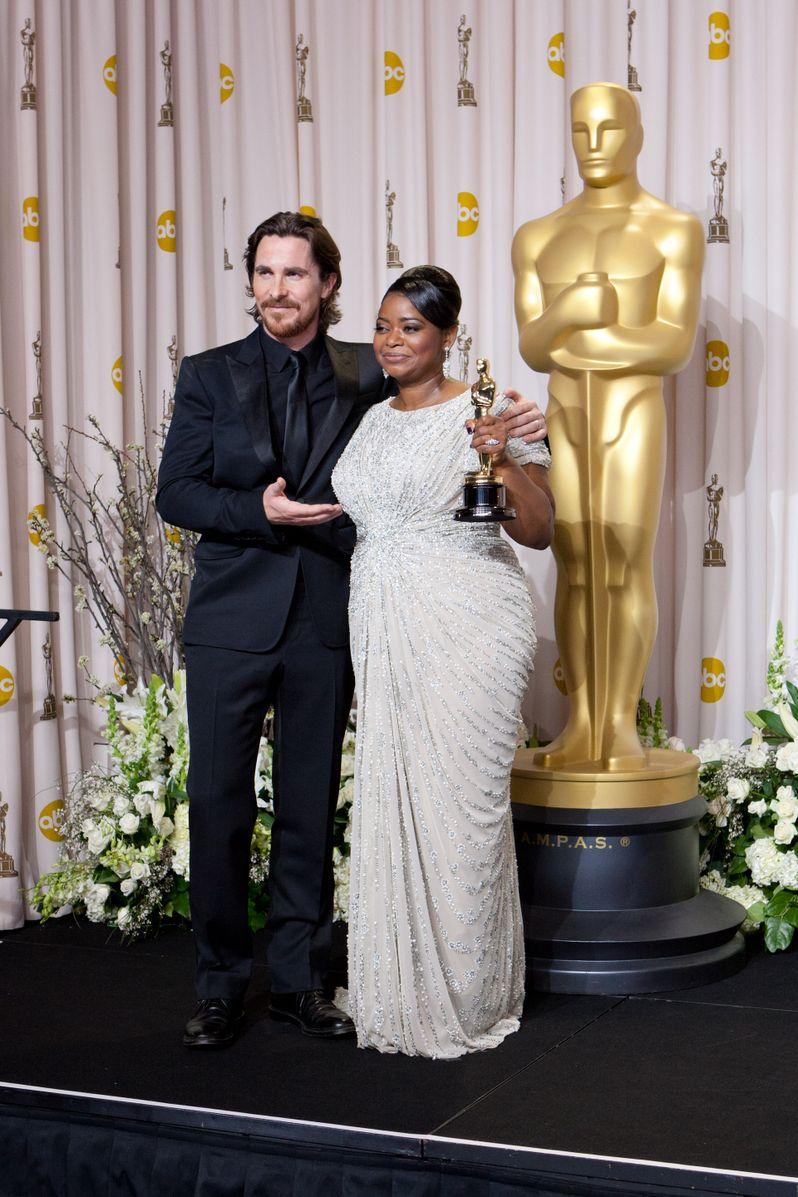 2012 Academy Awards Press Room photo 4