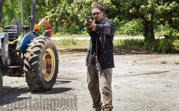 <strong><em>The Walking Dead</em></strong> Season 6 Corey Hawkins Photo
