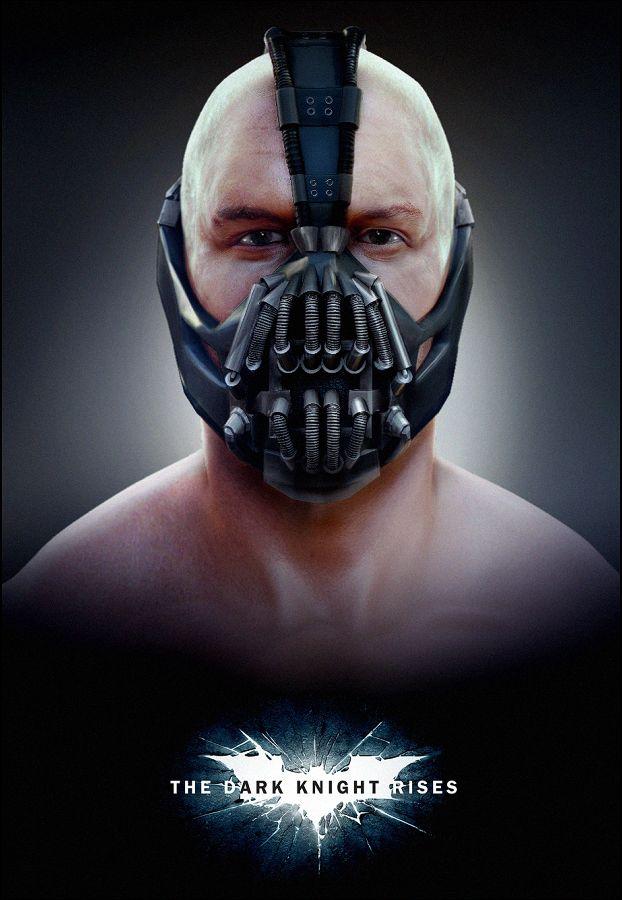 <strong><em>The Dark Knight Rises</em></strong> Bane Fan Poster