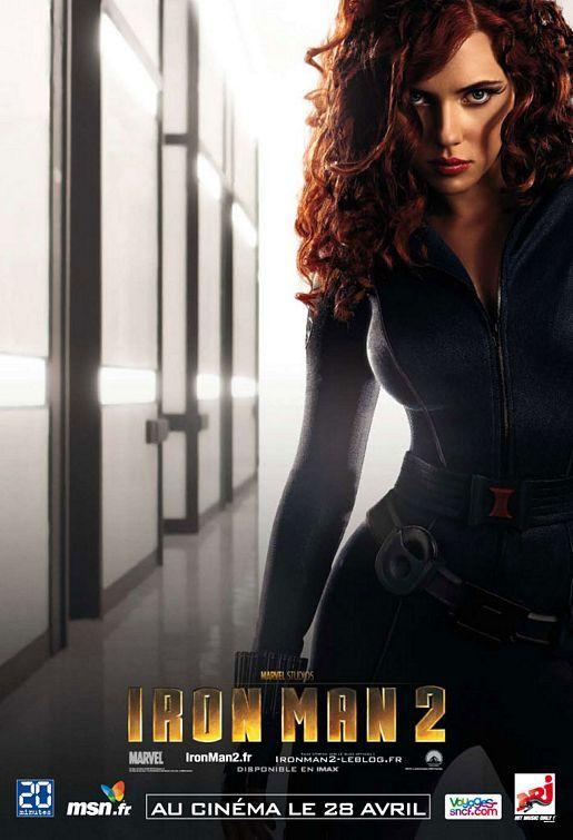 <strong><em>Iron Man 2</em></strong> Black Widow Character Poster