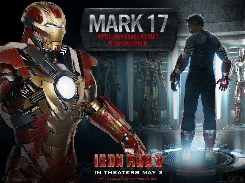 <strong><em>Iron Man 3</em></strong> Mark 17 Armor Photo