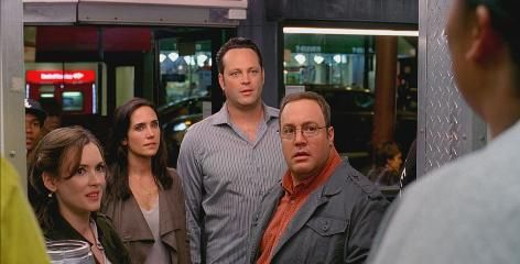 FVince Vaughn, Kevin James, Jennifer Connelly and Winona Ryder in <strong><em>The Dilemma</em></strong>