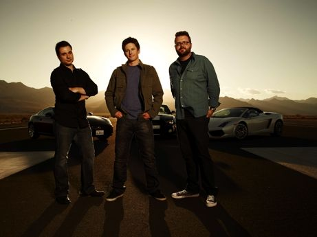 Adam Ferrara, Tanner Foust and Rutledge Wood Talk Top Gear