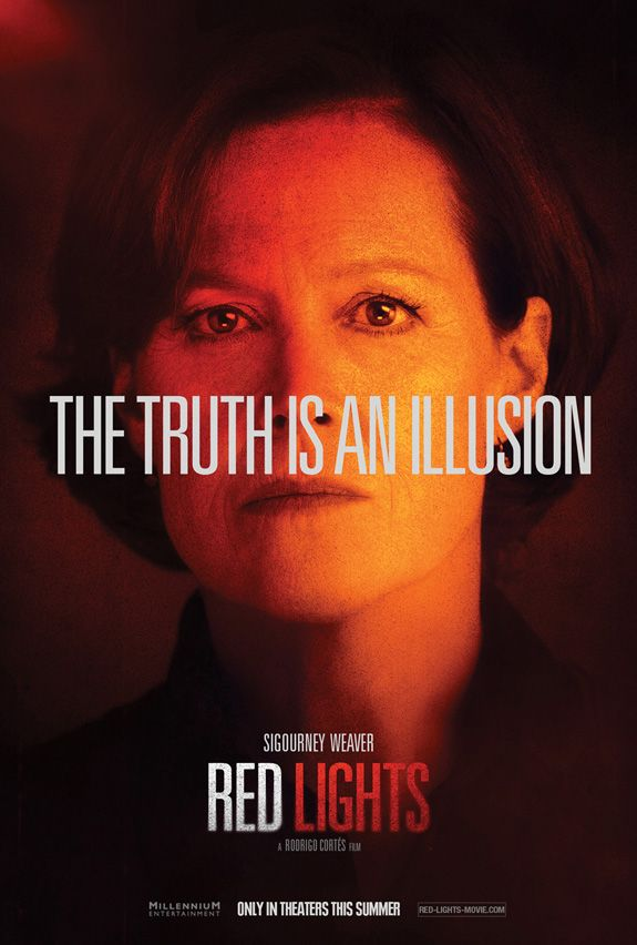 <strong><em>Red Lights</em></strong> Sigourney Weaver Character Poster