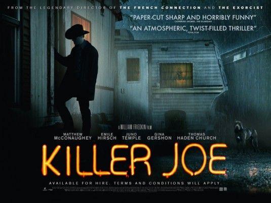 Kill Joe Quad Poster