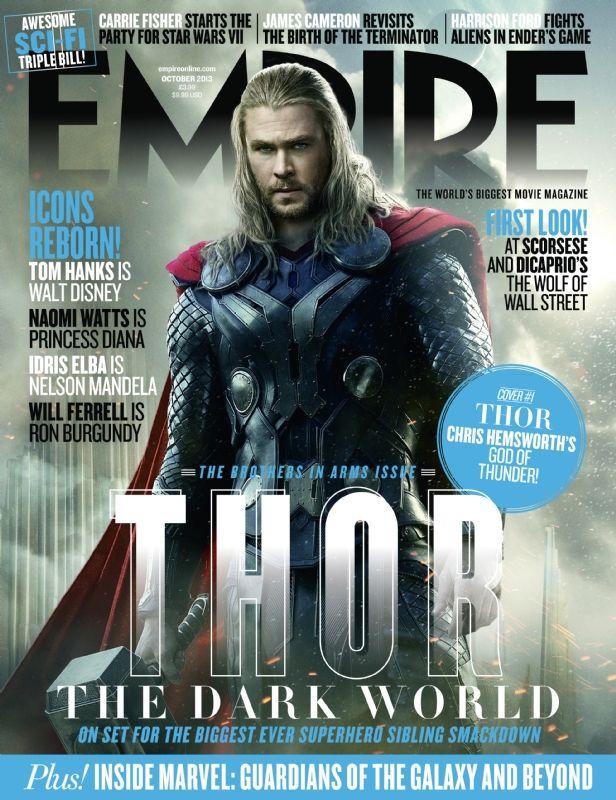 <strong><em>Thor: The Dark World</em></strong> Empire Magazine Cover 1
