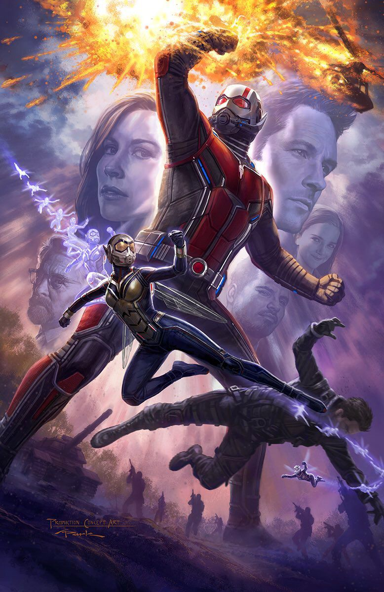 <strong><em>Ant-Man and the Wasp</em></strong> Poster