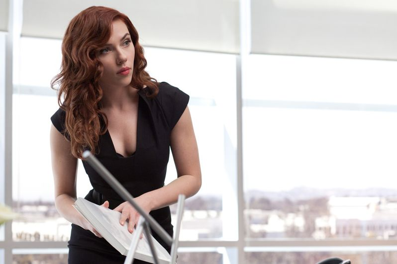 Scarlett Johansson In <strong><em>Iron Man 2</em></strong>