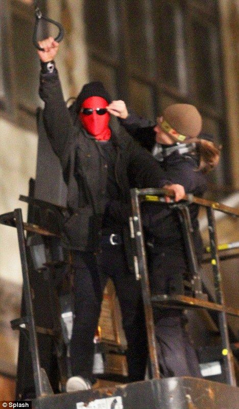 <strong><em>The Amazing Spider-Man</em></strong> NYC Set Photo #1