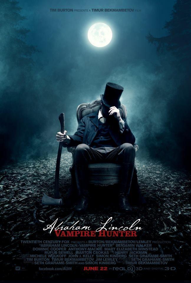 <strong><em>Abraham Lincoln: Vampire Hunter</em></strong> Poster #1