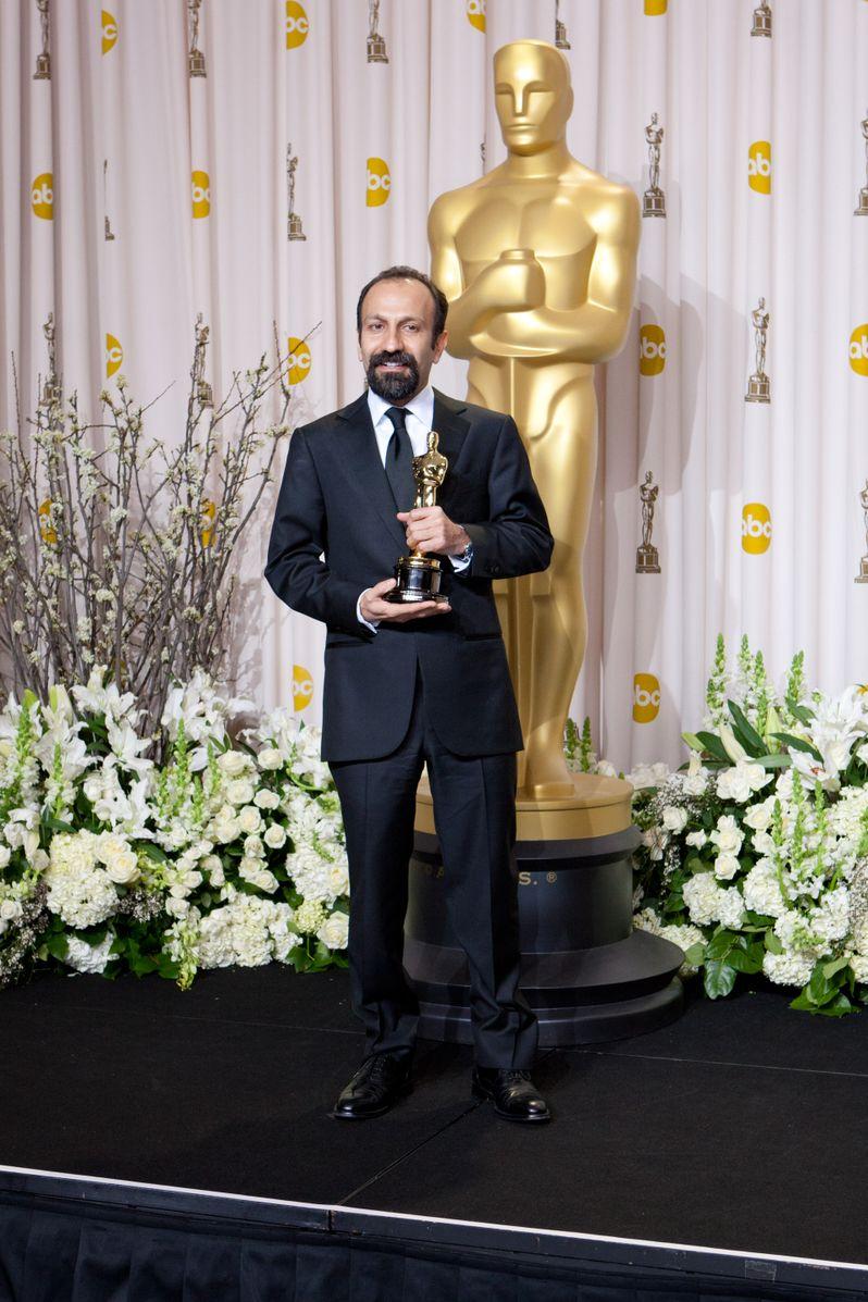 2012 Academy Awards Press Room photo 1