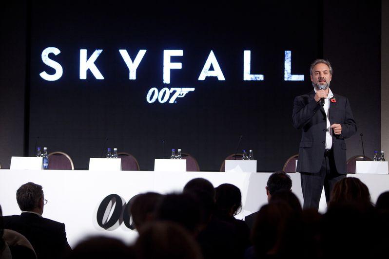 <strong><em>Skyfall</em></strong> London Press Conference photo 1