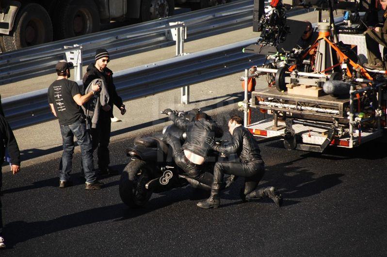 Ghost Rider: Spirit of Vengeance Stunt Photos #3
