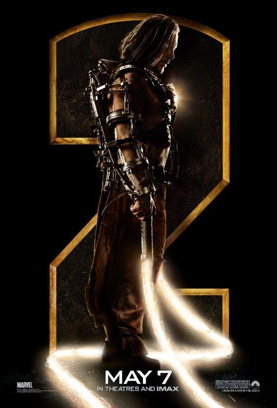 Whiplash <strong><em>Iron Man 2</em></strong> IMAX Poster