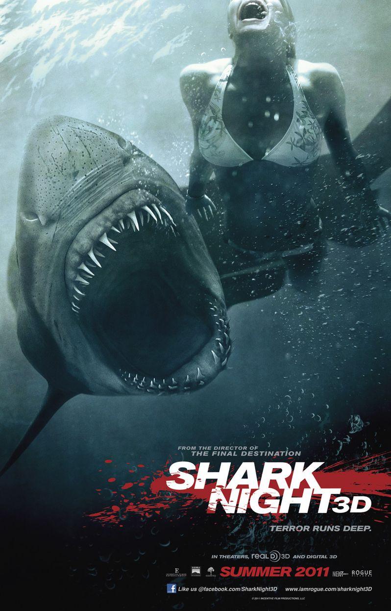 Shark Night Poster #1
