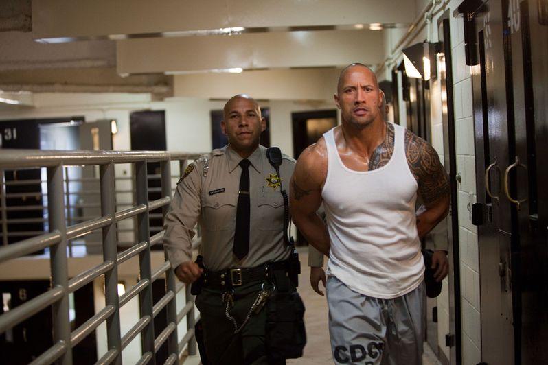 Dwayne Johnson in <strong><em>Faster</em></strong>