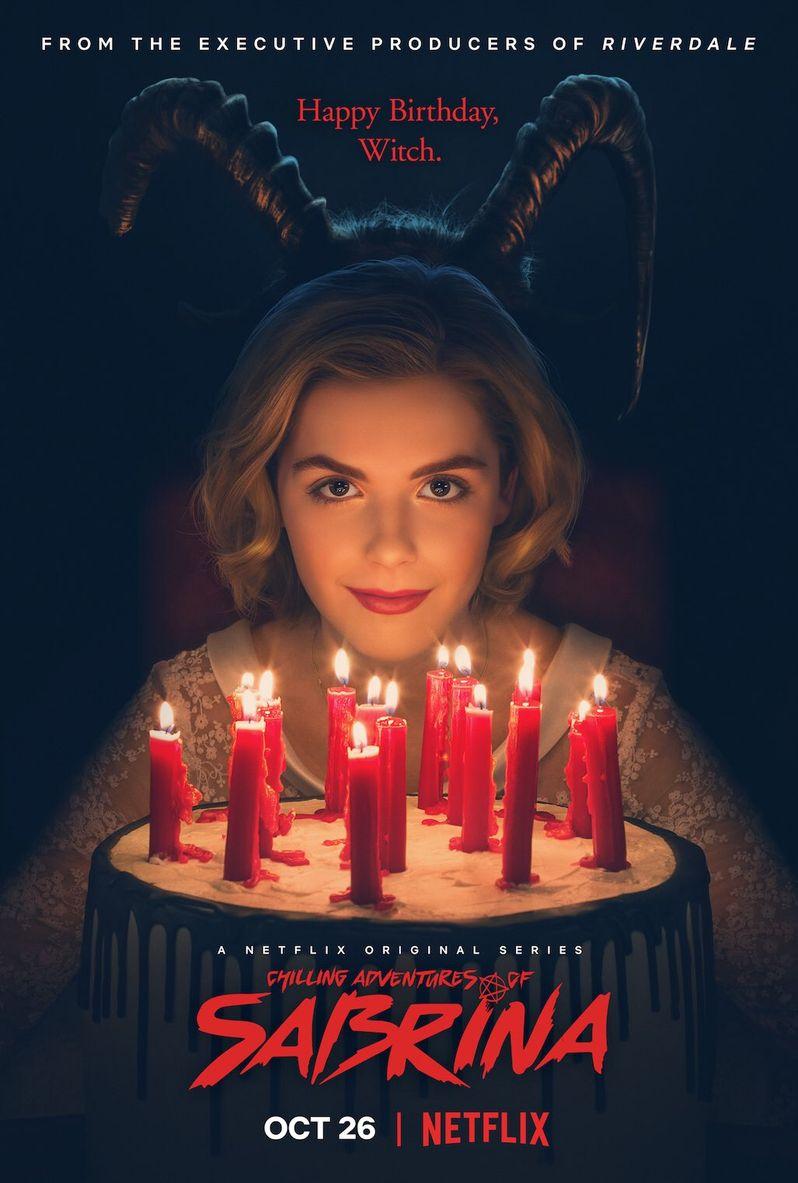 <strong><em>Chilling Adventures of Sabrina</em></strong> poster