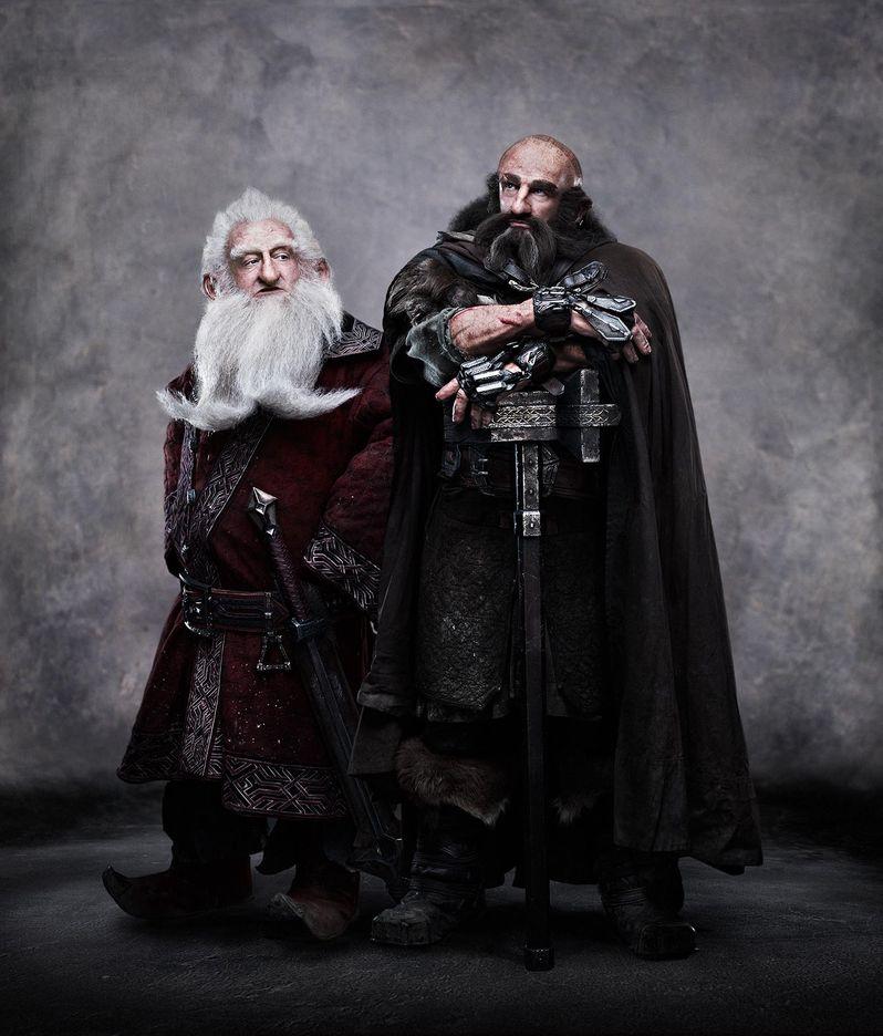 The Hobbit Ken Stott and Graham McTavish Dwarves Photo