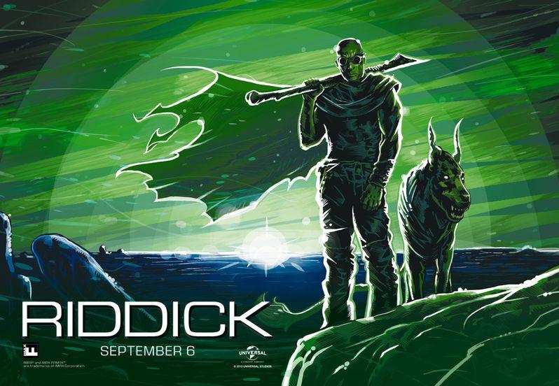 <strong><em>Riddick</em></strong> IMAX FanFix Poster
