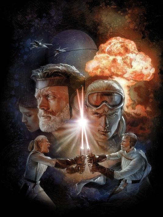 The Star Wars Comic Book Artwork 2