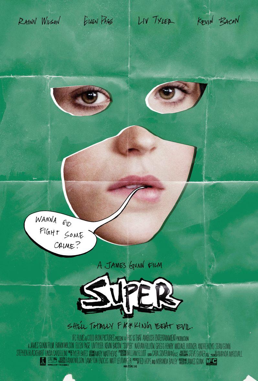 <strong><em>Super</em></strong> Ellen Page Poster