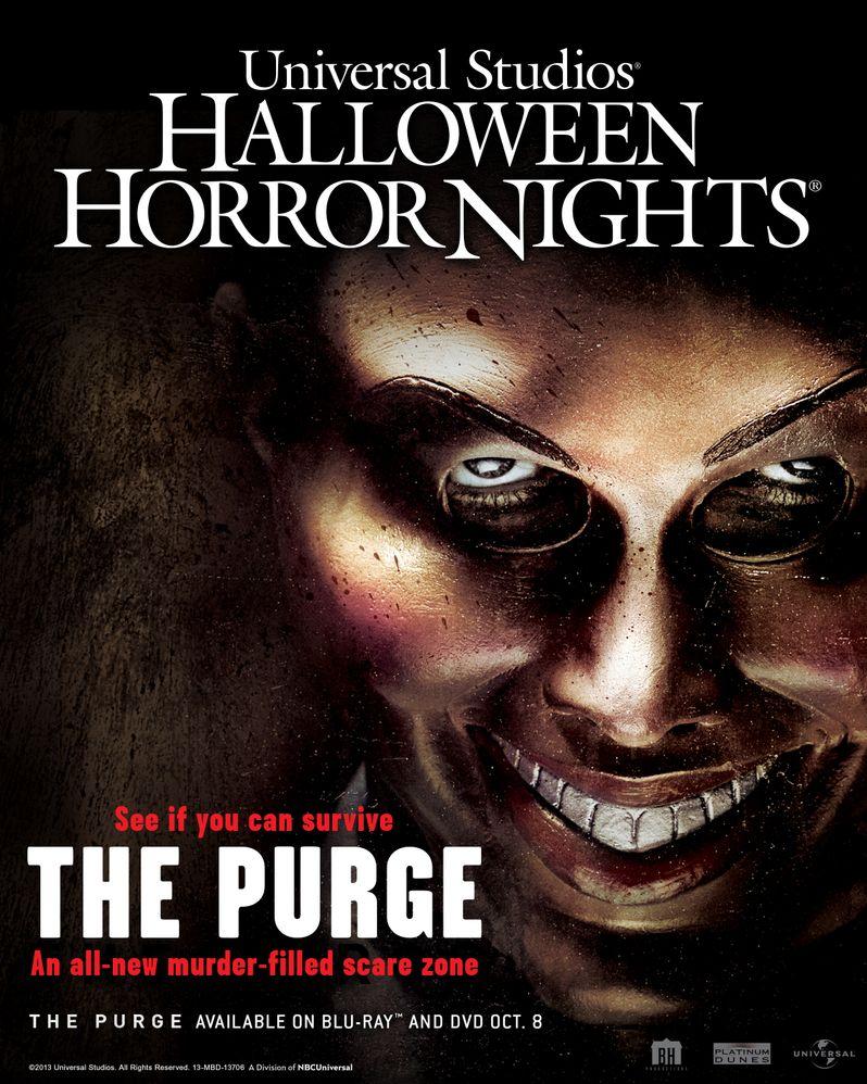 The PUrge Halloween Horror Nights Artwork