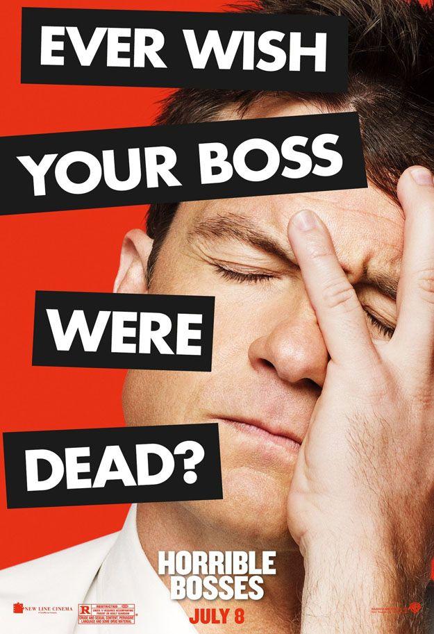 <strong><em>Horrible Bosses</em></strong> Jason Bateman Character Poster