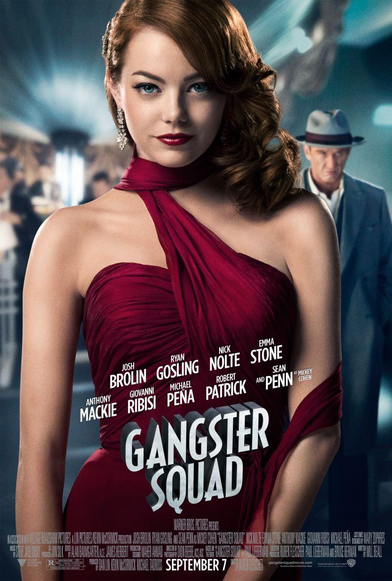 <strong><em>Gangster Squad</em></strong> Emma Stone Character Poster