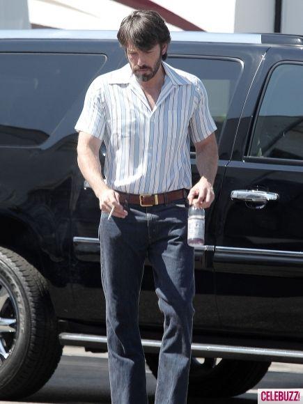 Ben Affleck on the set of <strong><em>Argo</em></strong> #3