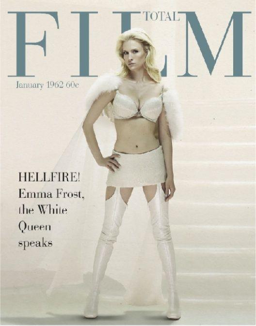 X-Men First Class Total Film Magazine Cover #4