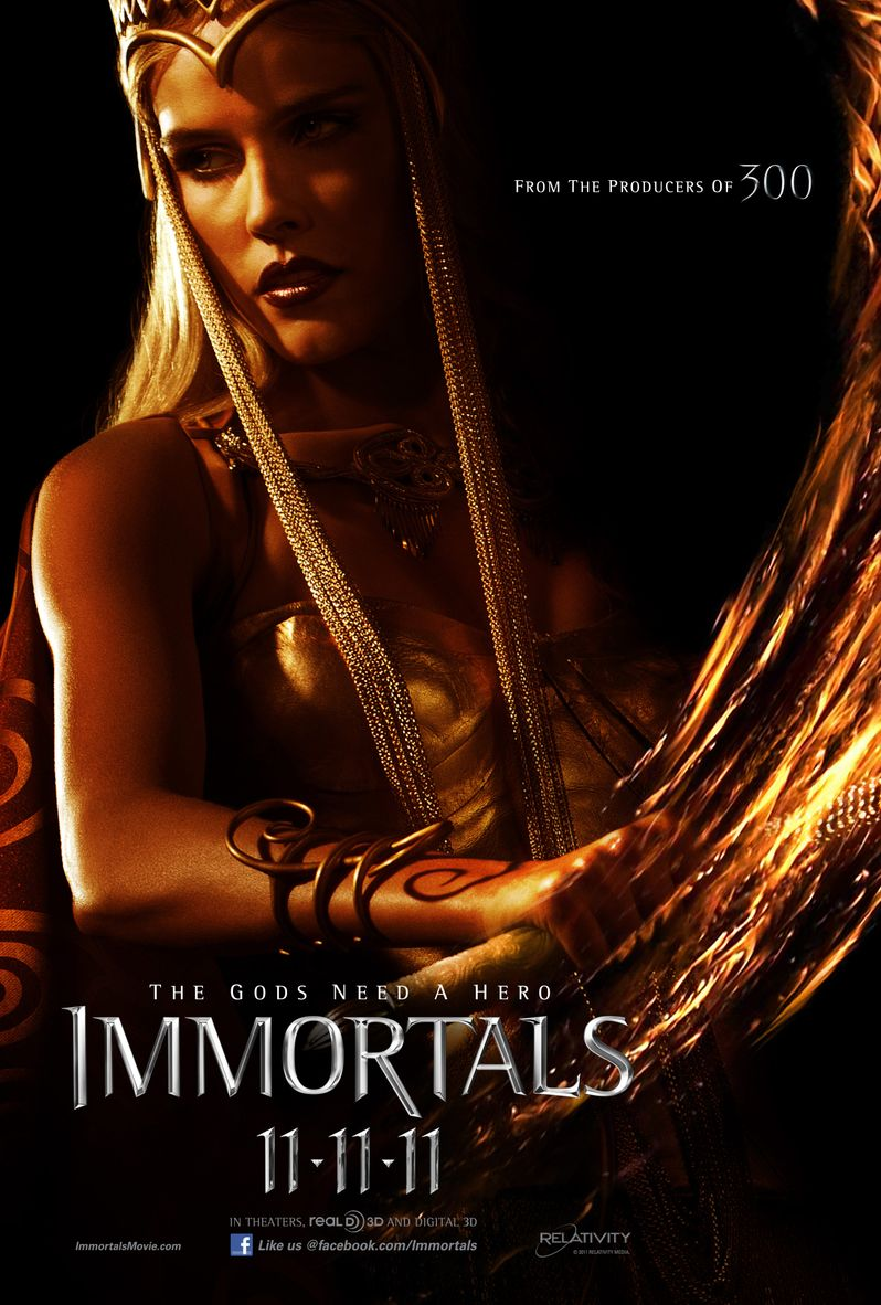 <strong><em>Immortals</em></strong> Character Poster #2