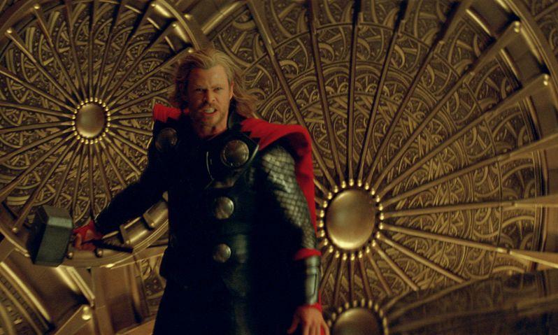 Chris Hemsworth as <strong><em>Thor</em></strong>