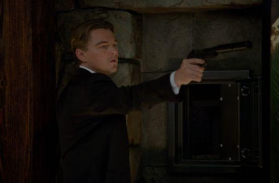 Leonardo DiCaprio in <strong><em>Inception</em></strong>