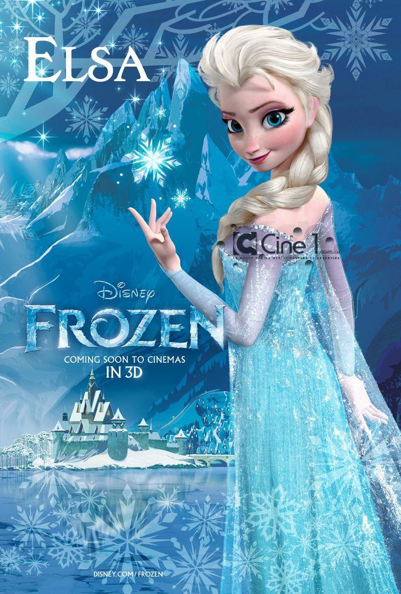 <strong><em>Frozen</em></strong> Elsa Character Poster