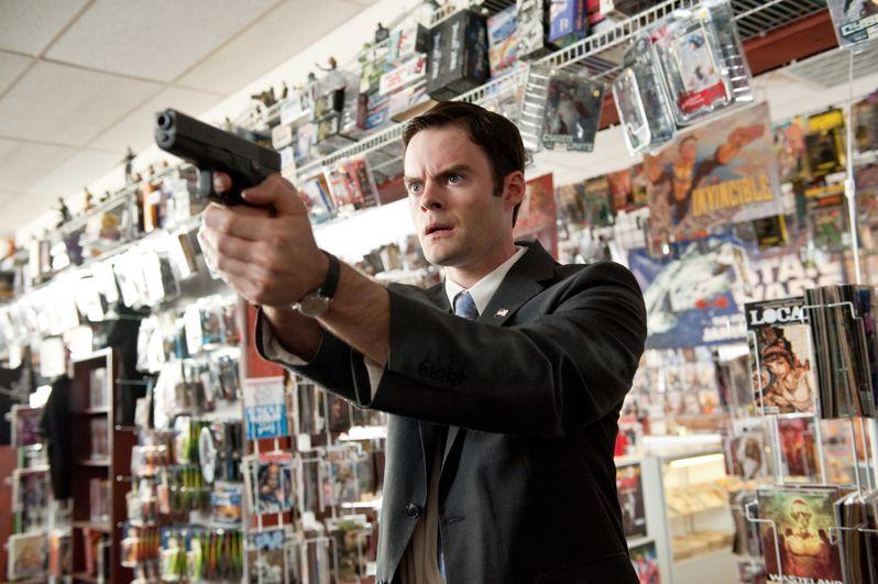 Bill Hader as Agent Haggard