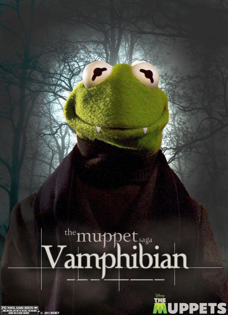 Vamphibian Muppets Poster