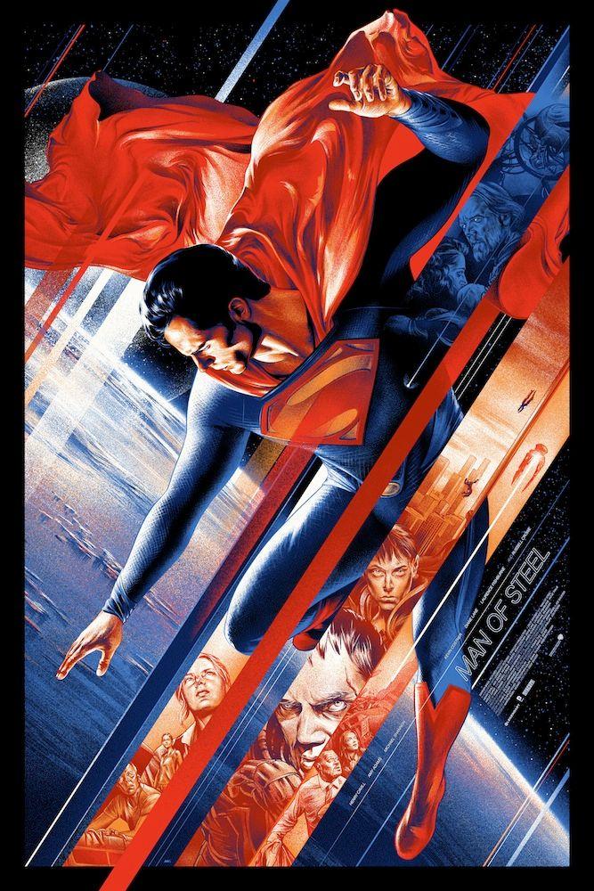 <strong><em>Man of Steel</em></strong> Mondo Poster 3
