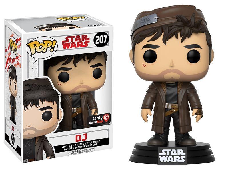 DJ Funko Pop Star Wars Last Jedi