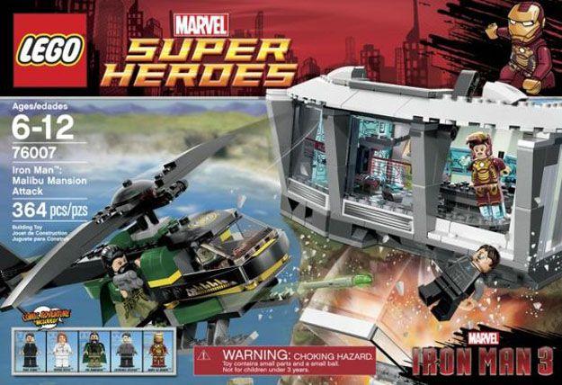 <strong><em>Iron Man 3</em></strong> LEGO Set #1