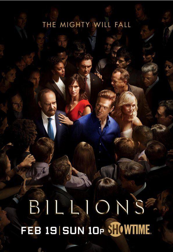 <strong><em>Billions</em></strong> Season 2 Poster
