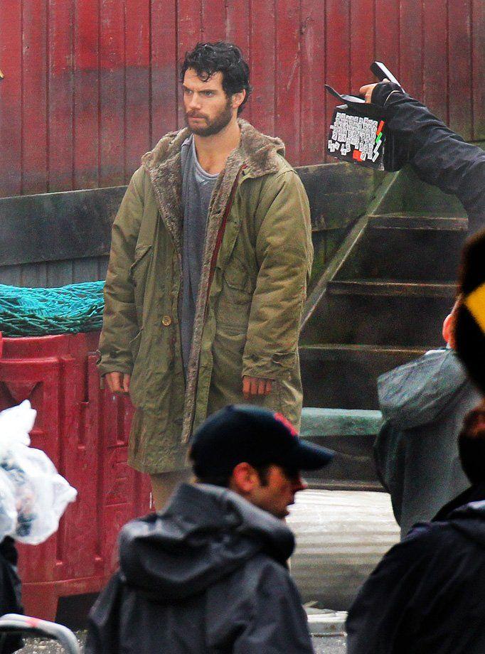 Henry Cavill as a Bearded Clark Kent #1