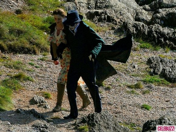 Johnny Depp as Barnabas Collins on the <strong><em>Dark Shadows</em></strong> Set #3