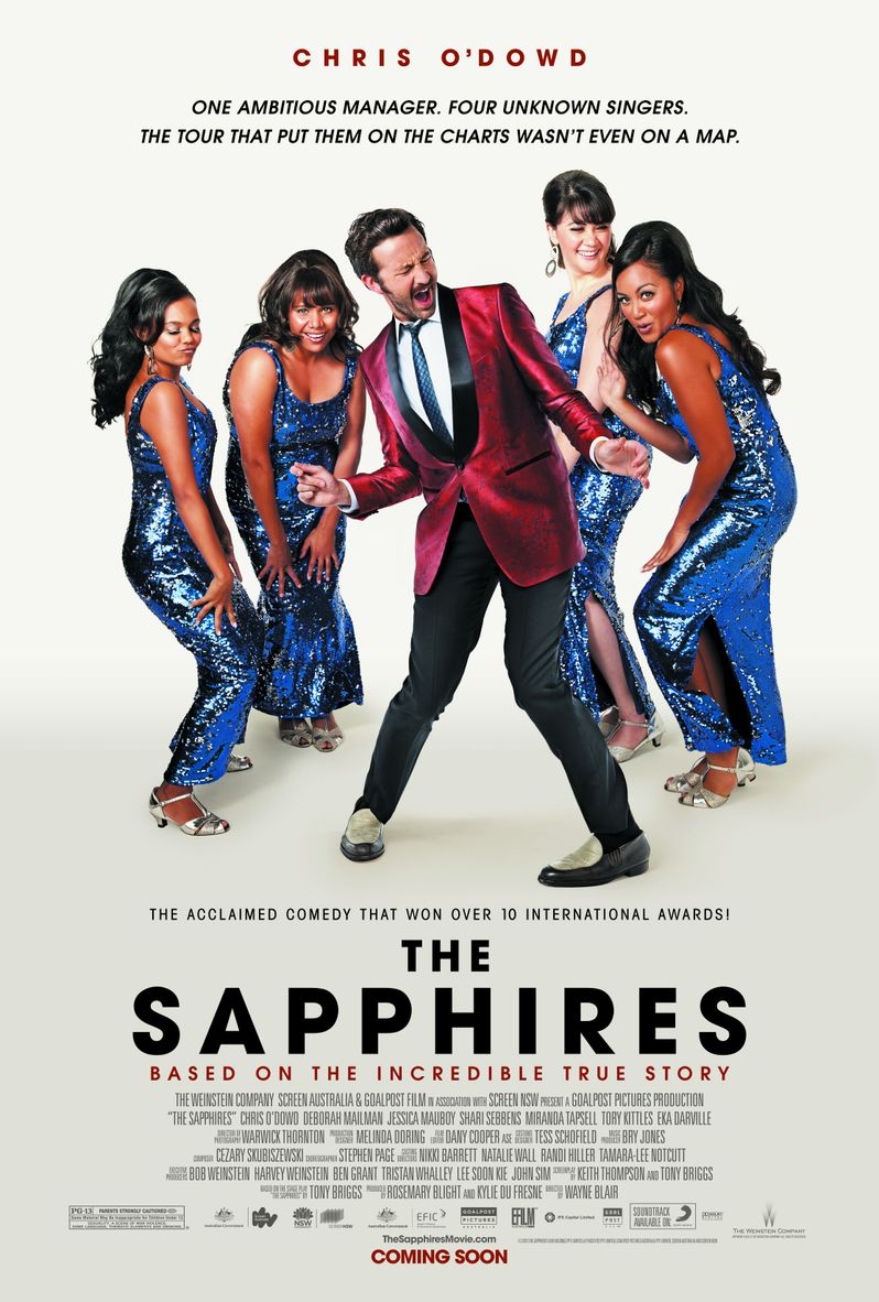 <strong><em>The Sapphires</em></strong> Poster