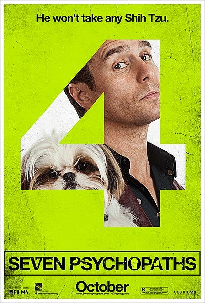 <strong><em>Seven Psychopaths</em></strong> Character Poster #4