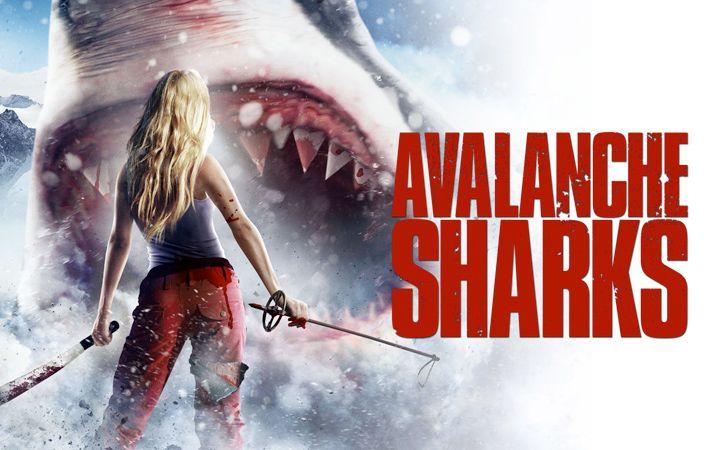 <strong><em>Avalanche Sharks</em></strong> Poster