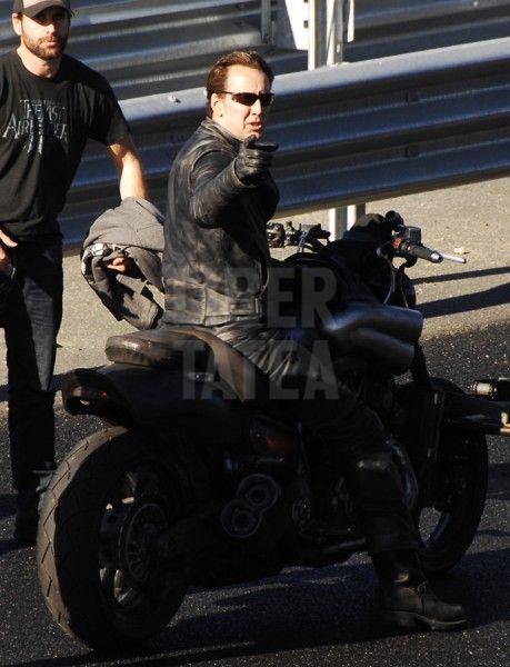 Ghost Rider: Spirit of Vengeance Stunt Photos #2