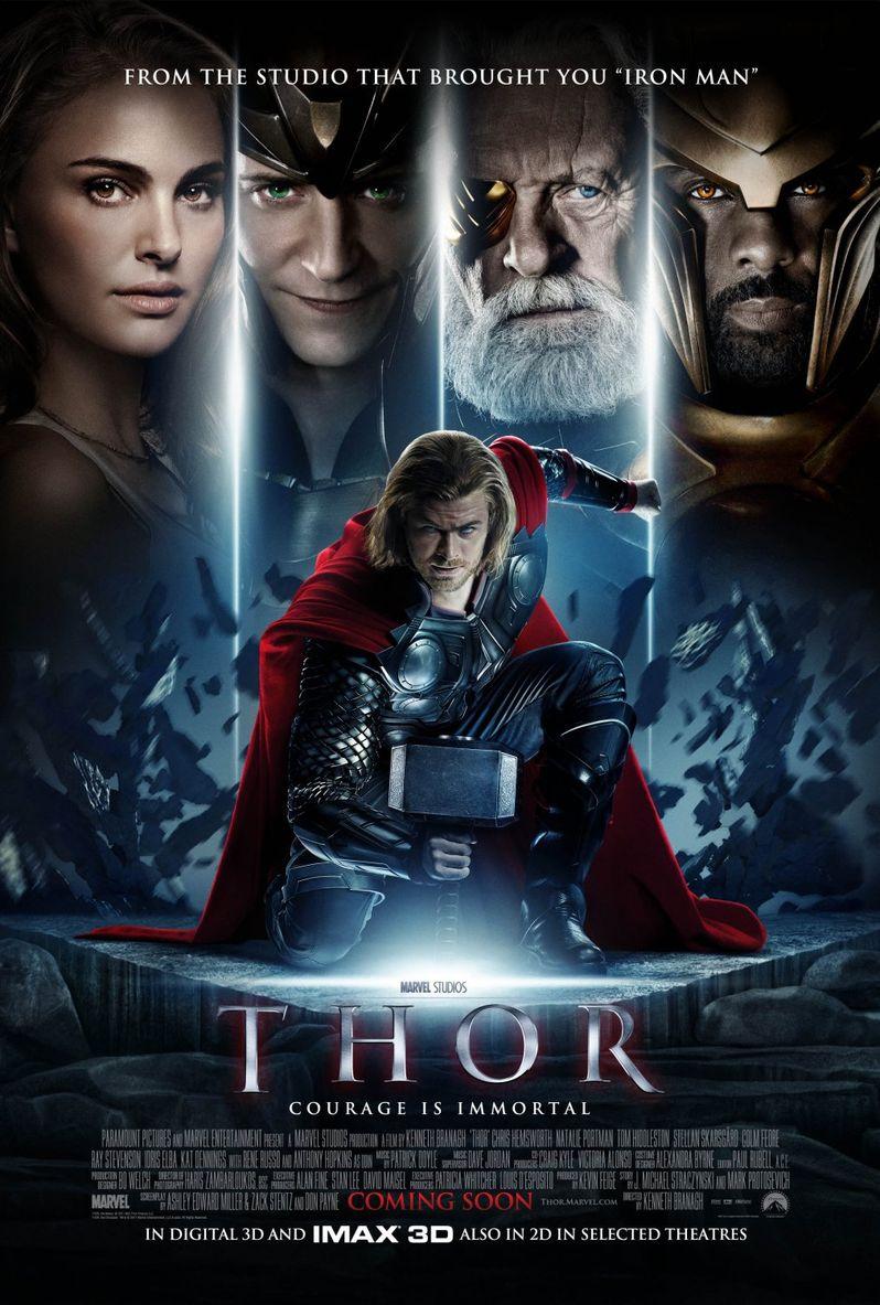 <strong><em>Thor</em></strong> International Poster #1