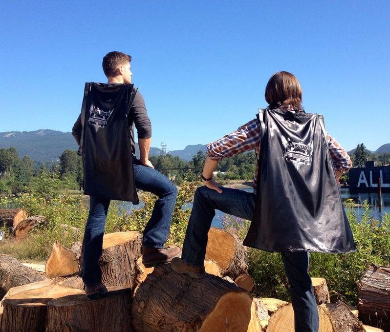 <strong><em>Supernatural</em></strong> Caped Backpacks